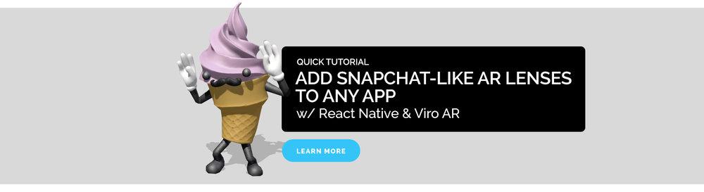Add Snapchat-Like AR Lenses to Any App