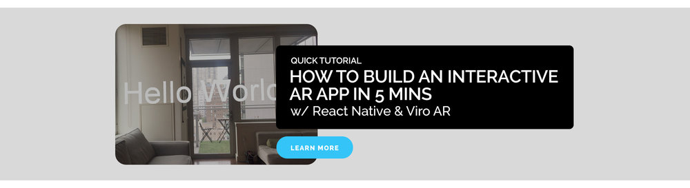 How to build an interactive AR App in 5 mins