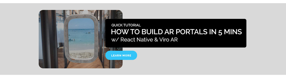 How to Build AR Portals in 5 min