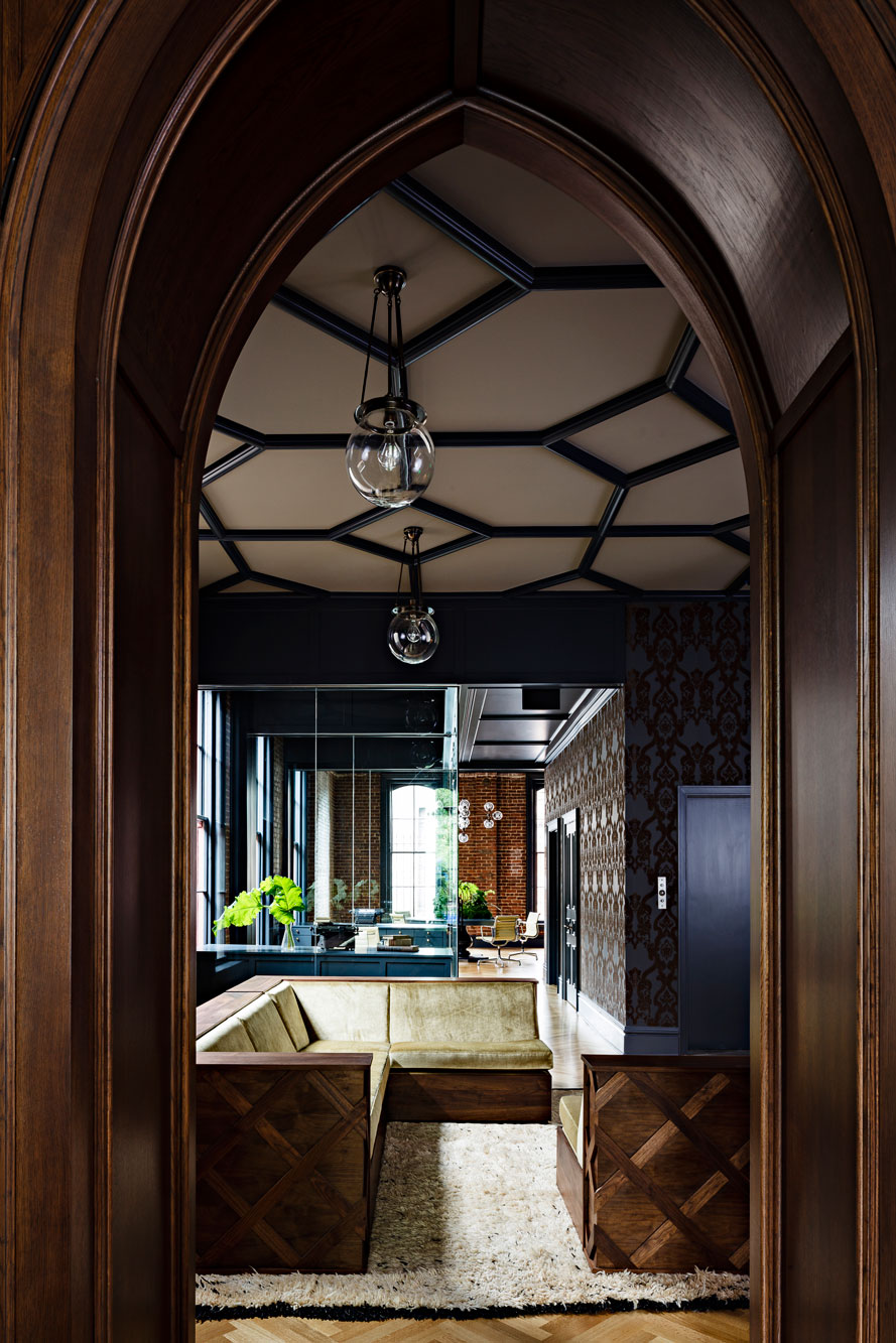 Captivating Gothic Office Jessica Helgerson Interior Design   Gothic Architecture House  Interior