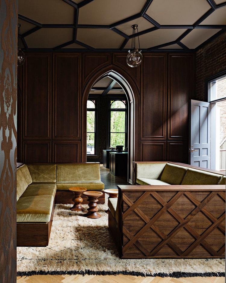 Gothic Office  Jessica Helgerson Interior Design