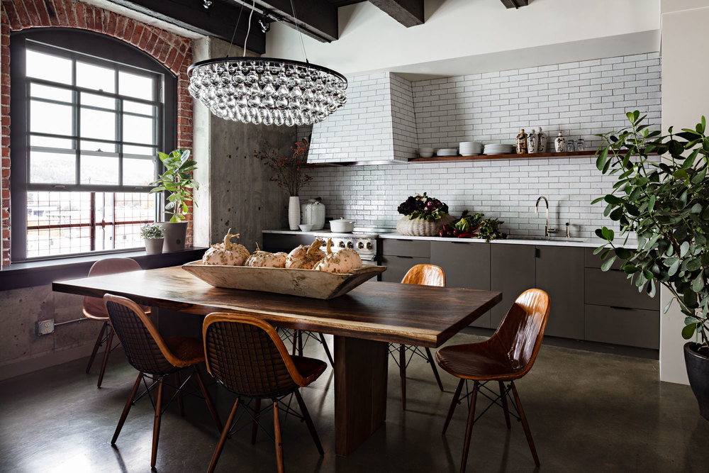 NW 48th Ave Loft Jessica Helgerson Interior Design Best Kitchen Designers Portland Oregon