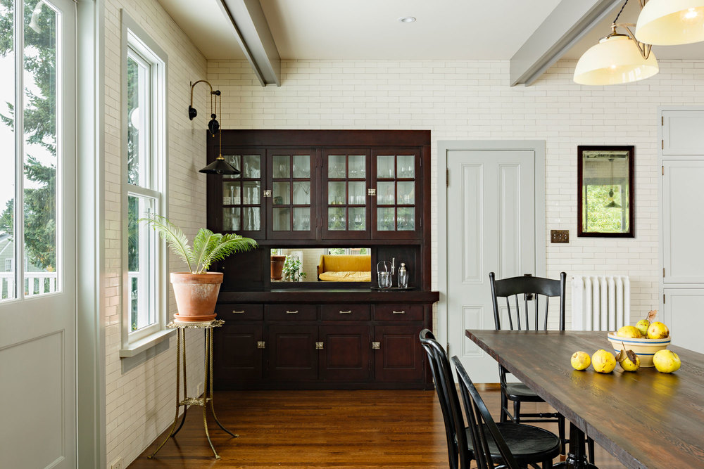 Cabinet salvaged from dining room