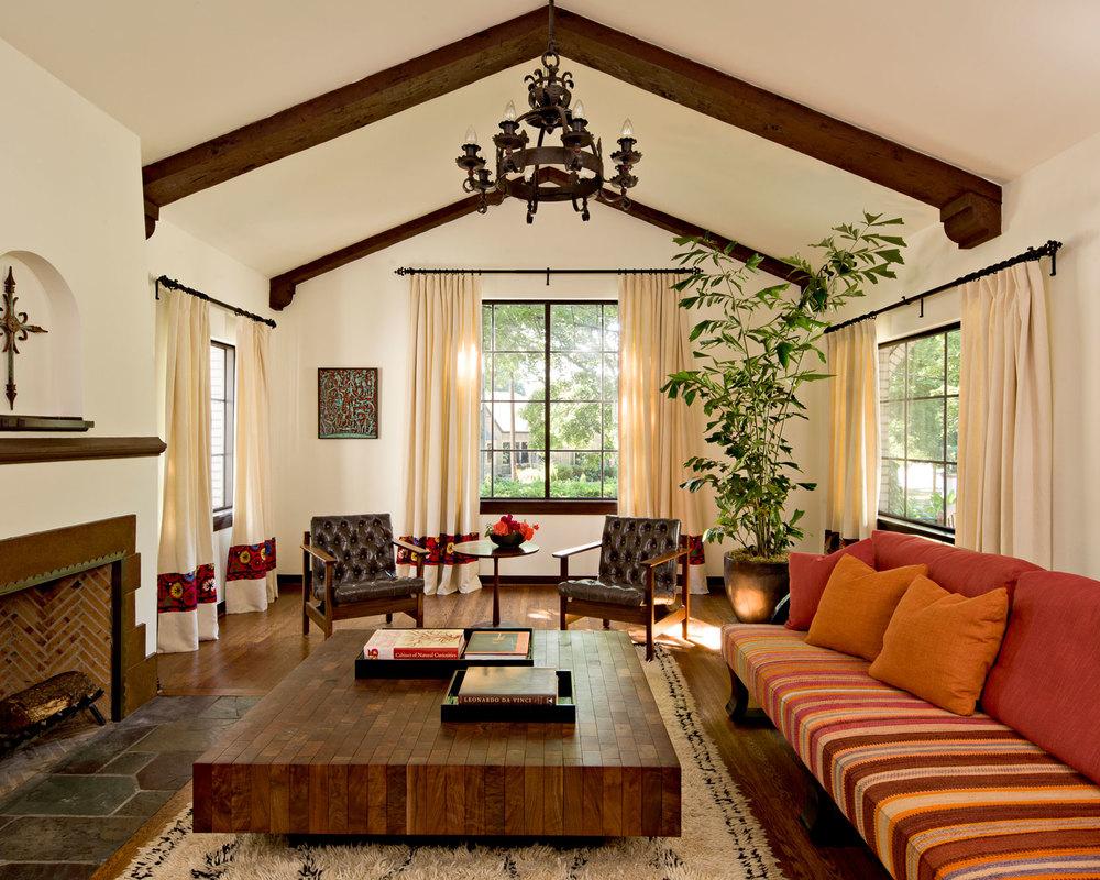 living room - Landhauskchen Mediterran
