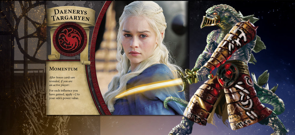 Daenerys and Warrior are kissing cousins when it's time for heroics in the last battle.