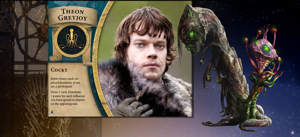 Theon and Reborn lead multiple lives yet are undaunted in pursuit of a satisfactory outcome.