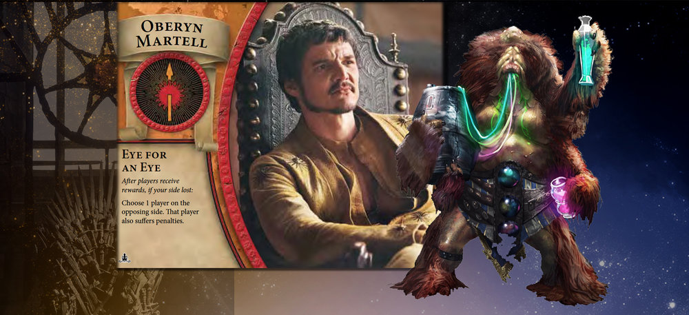 Oberyn and Animal don't let the sorrows of war get in the way of personal pleasure.