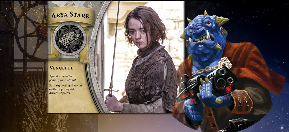 Arya and the Grudge are secure in the knowledge that any affront, no matter how small, will be avenged.