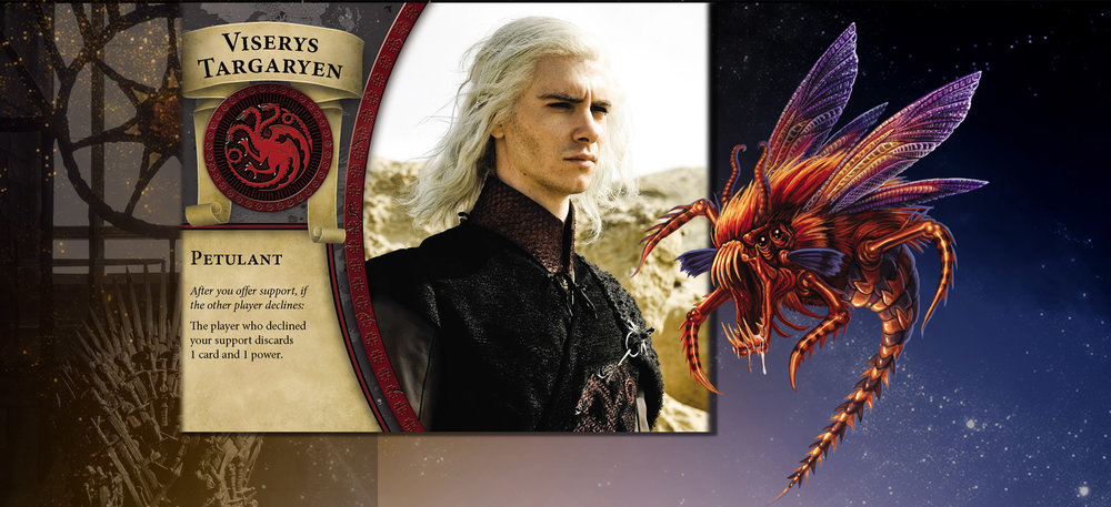 Viserys and Sting see eye to eye when it comes to demanding that others share the pain.