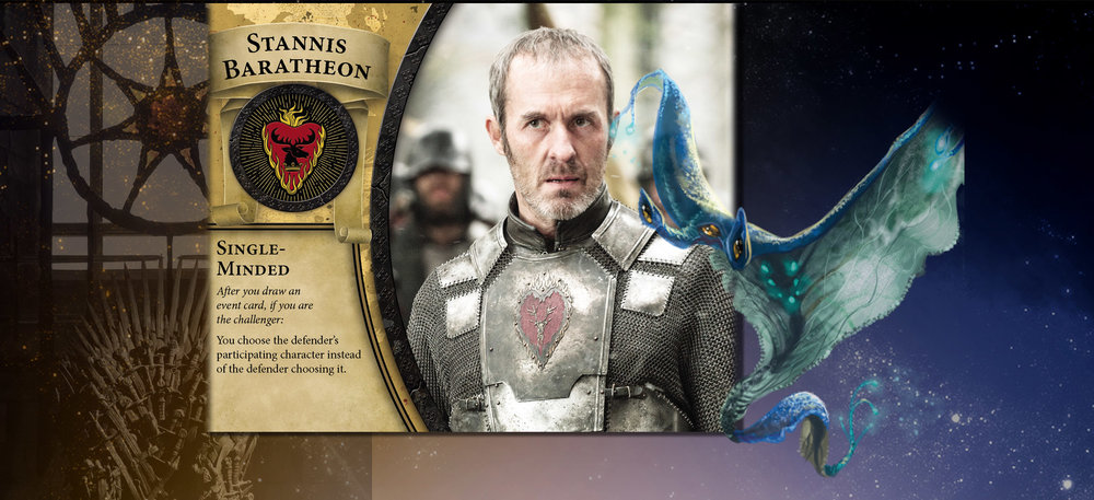 Stannis and Will care not where the fates would send them and thus choose a path for themselves.