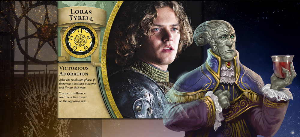 Loras and Aristocrat reek of power and birthright. Look at me!