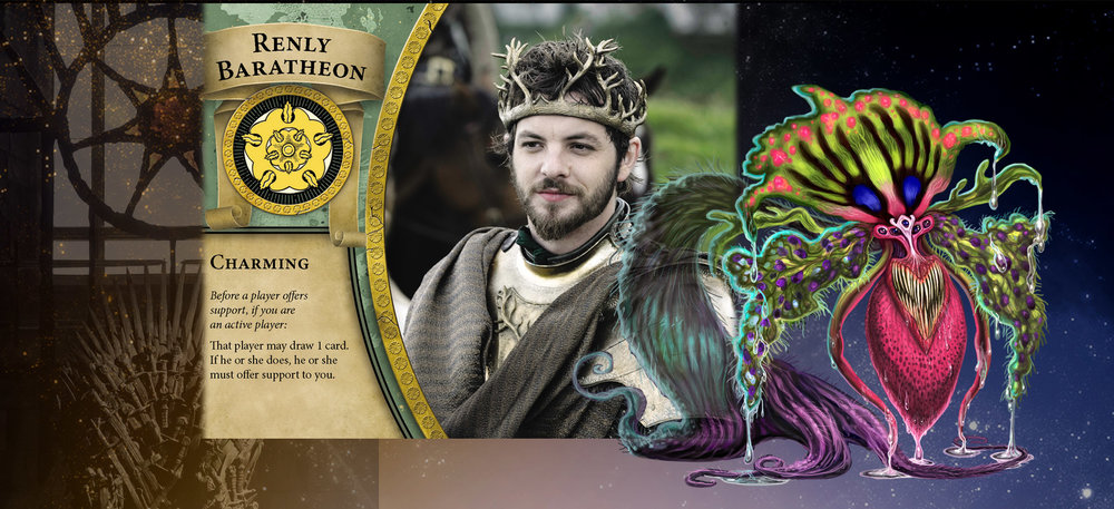 Renly Baratheon and Bleeding Heart would talk their way into an advantage when the opportunity is presented.