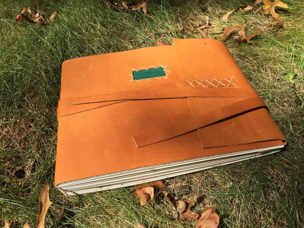 2015-08_Christine's Leather Guest Book.jpg