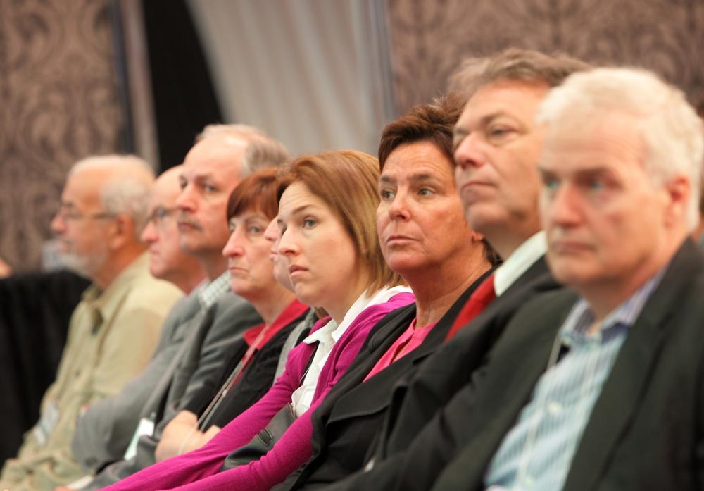 Des participants attentifs !