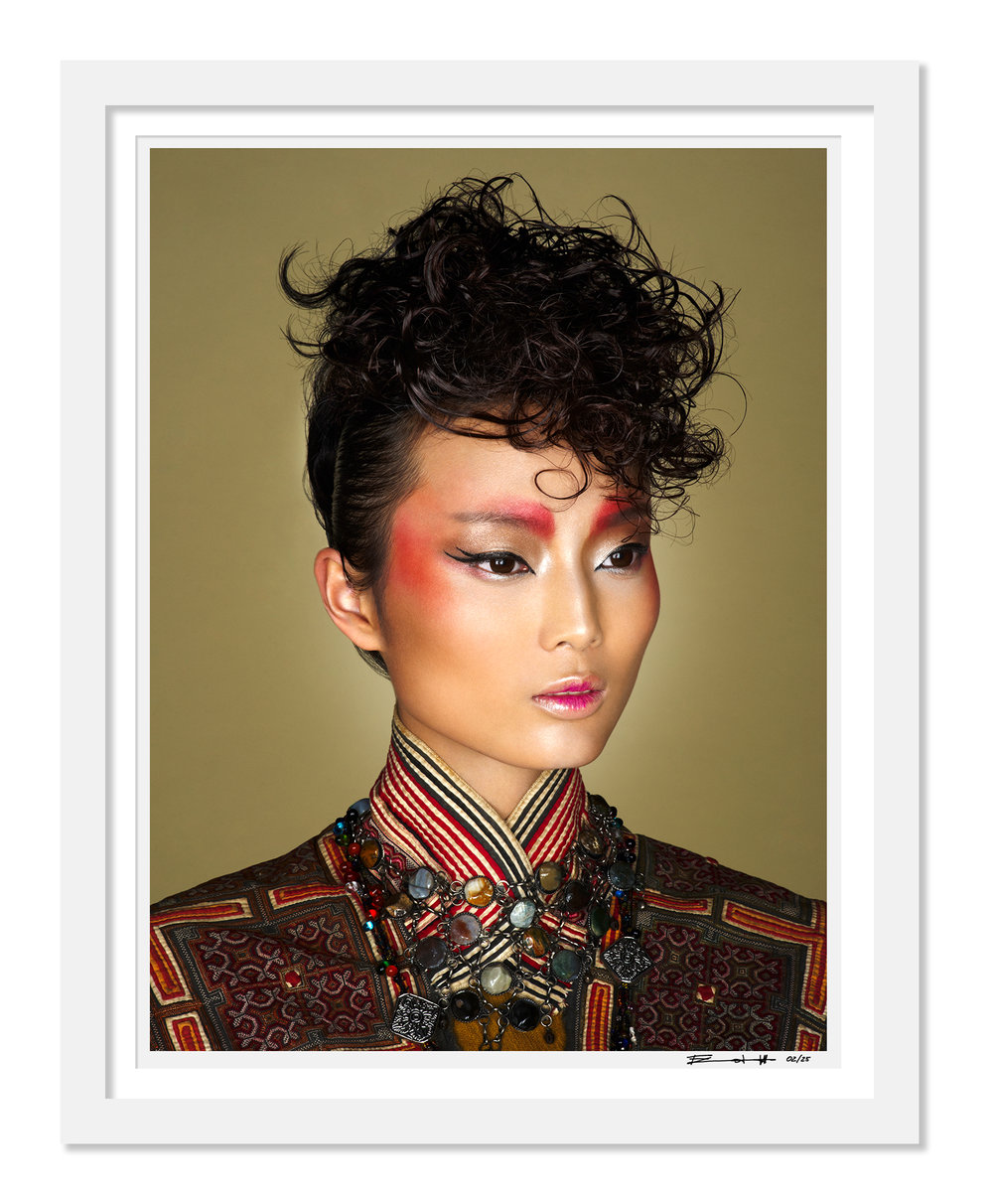 SHAKIRA TRIBE KUNMING limited edition print