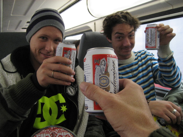 brews on the train