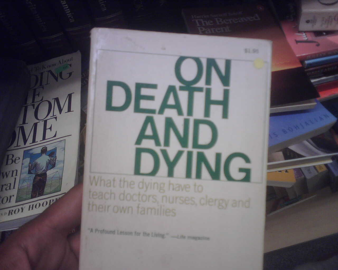 i only read books with the word 'death' in the title