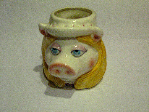 it must feel nice to drink out of ms. piggy