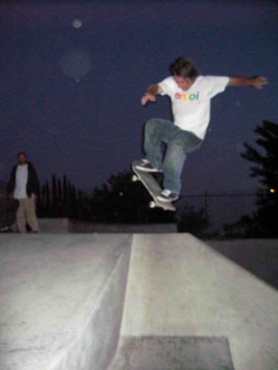 skate dad gets some