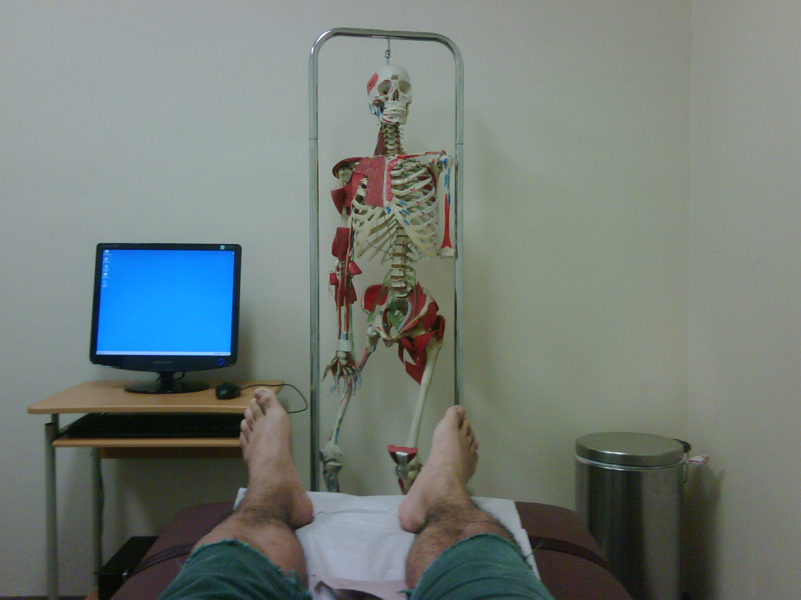 the doc said i can go home 'run along now..'