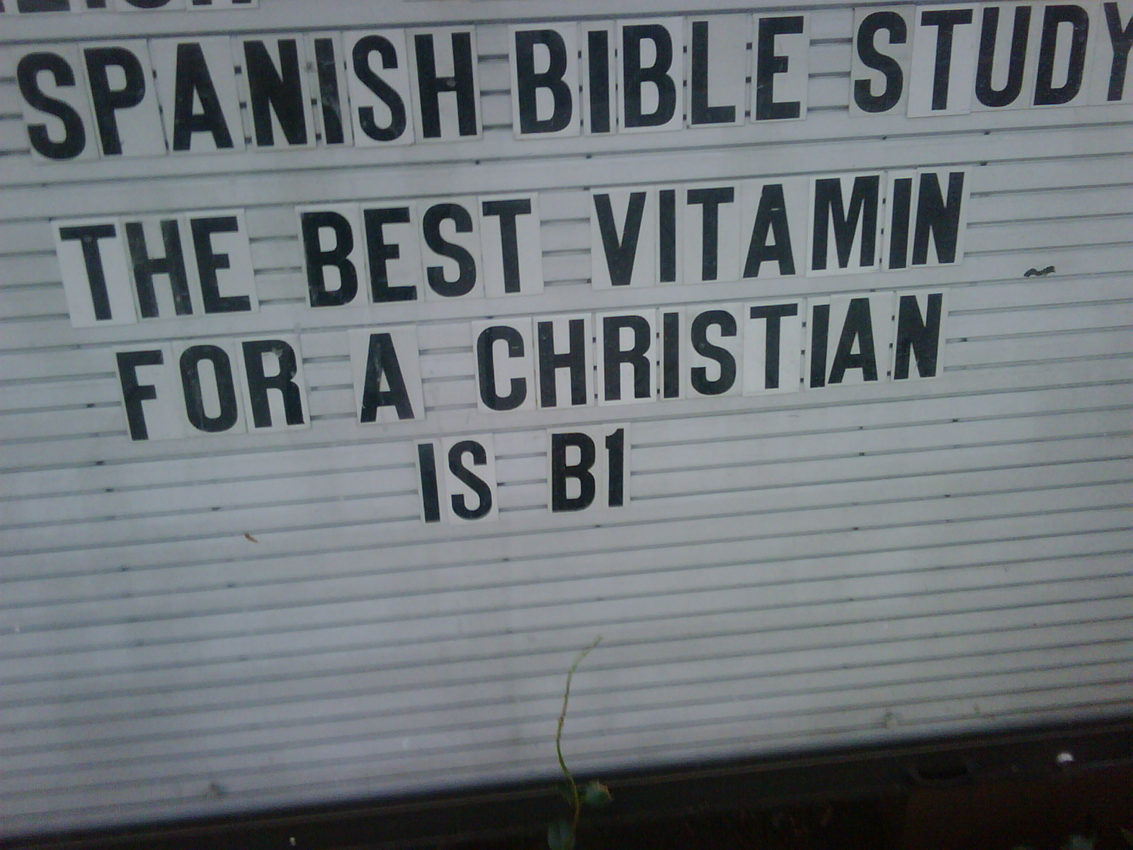 take note, christians with poor diets
