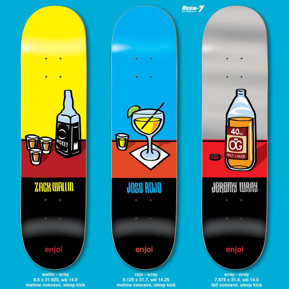 Enjoi Skateboards Peepshow Pandaartist Jeremy Wray
