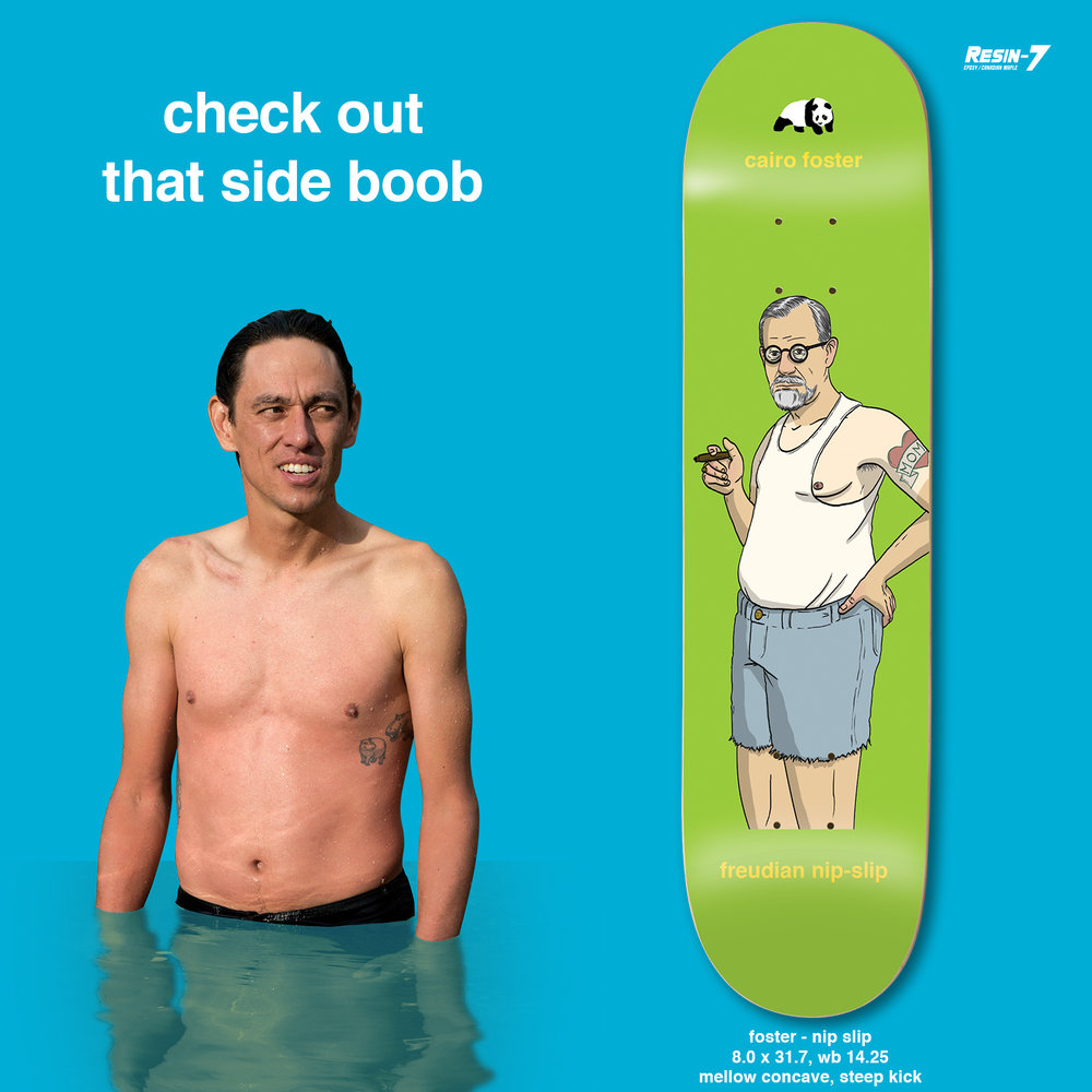Enjoi Skateboards Peepshow Foster Nip Slip