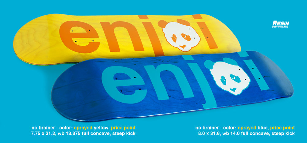Enjoi Skateboards Peepshow No Brainer