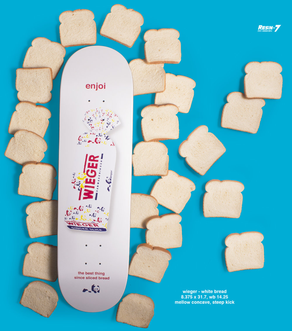 Enjoi Skateboards Peepshow Wieger Bread