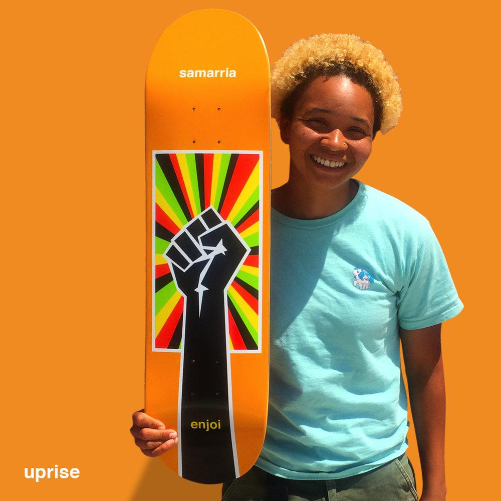 enjoi_UPRISE_SAMARRIA_skateboard_DECK_FIST_Rasta.jpg