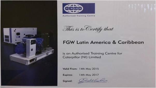 Centro de Entrenamiento Certificado FG Wilson