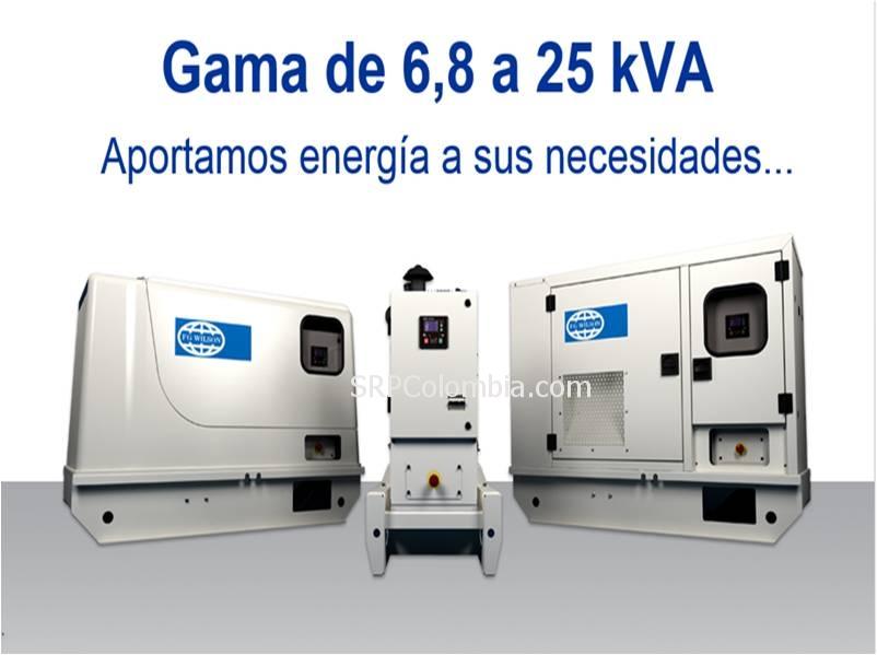 Plantas Electricas Cerradas, Abiertas o de Cabina. -