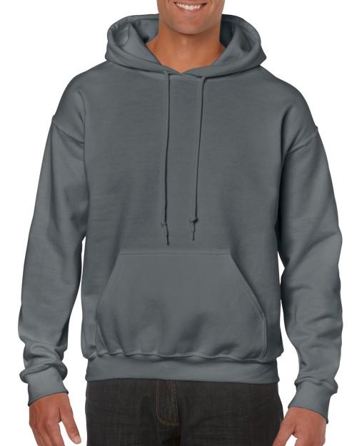 63dff5bb201 Charcoal Grey Custom Printed Adult Hooded Sweatshirt Gildan 18500 Front T-Shirt  Factory Store