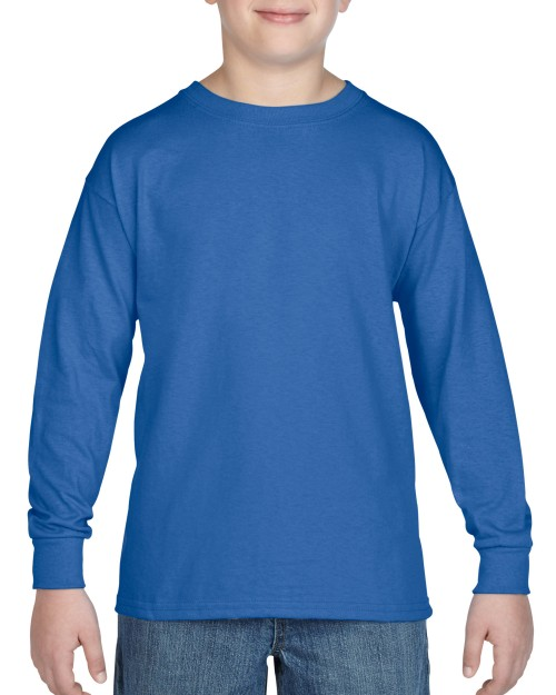 Custom Printed Youth Long Sleeve T Shirt Gildan 5400B T Shirt