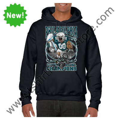 2018 Philadelphia Super Bowl Champions Custom Printed Adult Hooded  Sweatshirt 82567510b