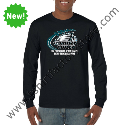 540f6f44 2018 Philly Philly The True Owner of The Crown Super Bowl Champions Custom  Printed Adult