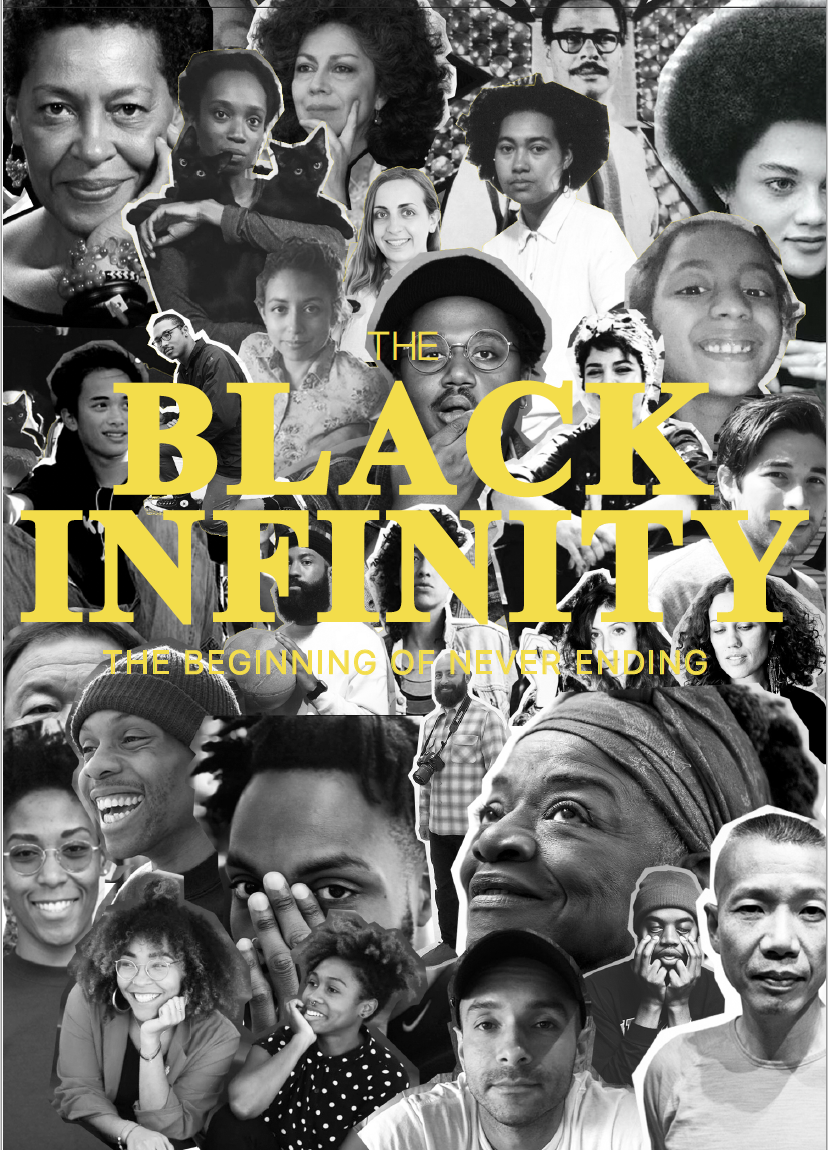The Black Infinity Presents: The Black Infinity, The Beginning of Never Ending Opening Reception: Saturday, December 2, 7-11pm Exhibition Dates: December 2-29, 2017 Closing Reception: Saturday, December 23, 7-11pm   Lukaza Branfman- Verissimo, Tyler Davis, Sara Emsaki, Cameron Granger, Maria Guzman Capron, Dionne Lee, Carolina Magis-Weinberg, Christopher Martin, Marcela Pardo Ariza and Aya Zemrani,  Curated by Tosha Stimage   The Beginning of Never Ending, is a group show featuring works ranging in theme and medium highlighting the diverse narratives of emerging local and international artists of color.   From the large scale mixed media paintings of Columbus College of art and design BFA '18 candidate Tyler Davis, to the text and color based installations of Mexican artist Carolina Magis-Weinberg, the ever powerful and gripping questions of history, space, and identity are the undercurrent of the exhibition. As a collective, The Black Infinity exists to support the materialization of marginal perspectives and art practices. We provide funding, exhibition opportunities, an online marketing platform, and professional development opportunities all free and open to the public. This exhibition is curated by CCAD Alumni and AICAD Post Grad Teaching Fellow, Tosha Stimage.  Please join us for the opening reception on December 2, 2017 from 7-11pm. Works will be on view from December 2- 23, Contact Gallery for additional hours.   PRESS CONTACT: Tosha Stimage Founder of The Black Infinity theblackinfinityinfo@gmail.com   NoPlace Gallery 1164 S. Front Street Columbus, OH 43206 theblackinfinity.com @the_blackinfinity
