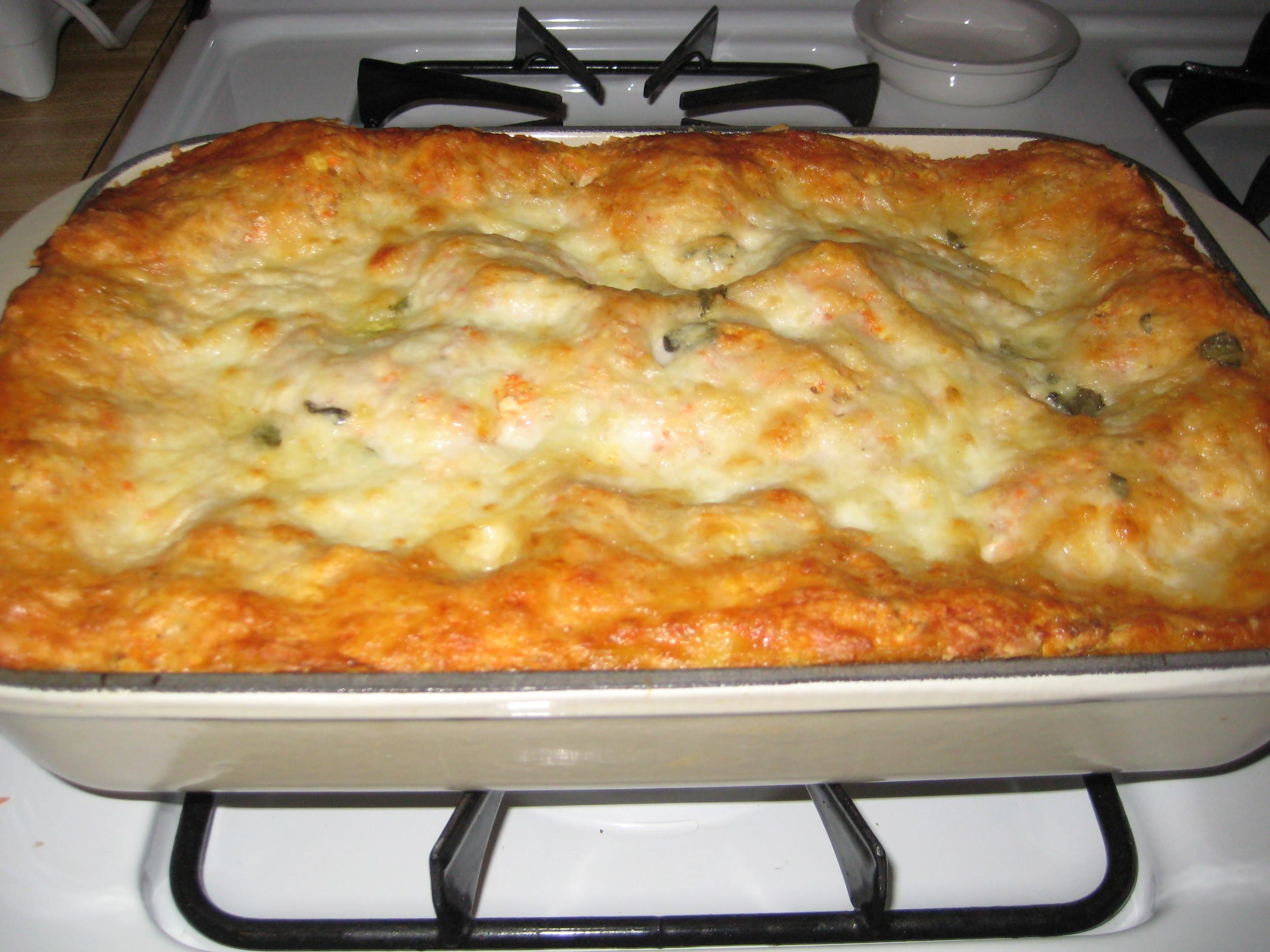 mid-winter lasagna