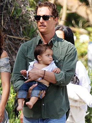 matthew mcconaughey with levi