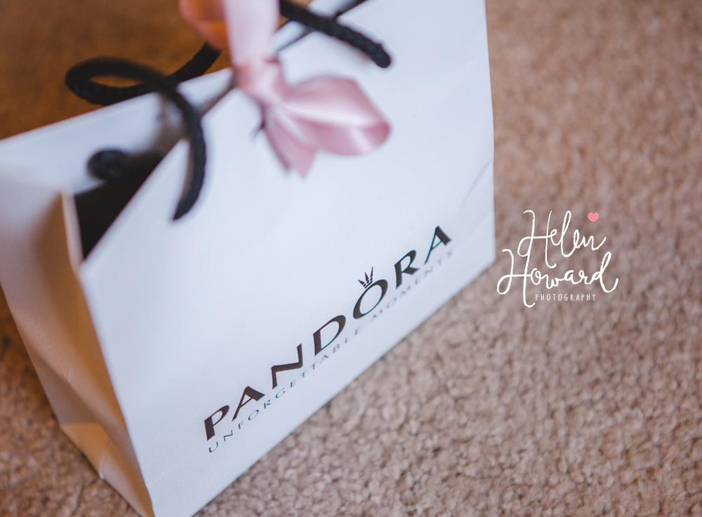 A pandora gift bag