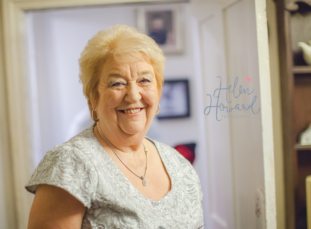 A proud mother of the bride wedding photography in staffordshire