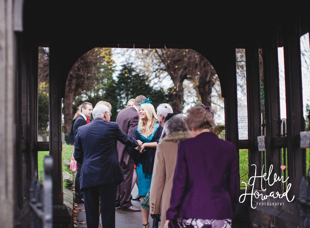 A Wedding at St Leonard's Church in Dunston Staffordshire