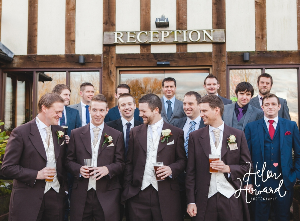 All The Groomsmen Weddings in Staffordshire