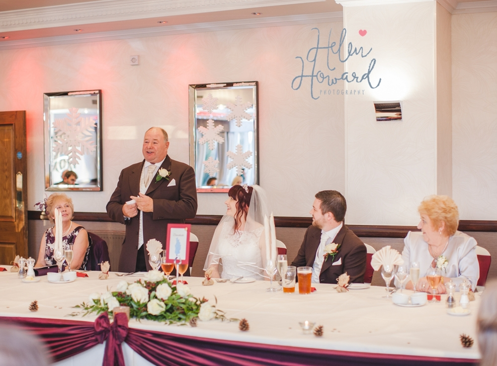 Father of the Bride speech at The Moathouse