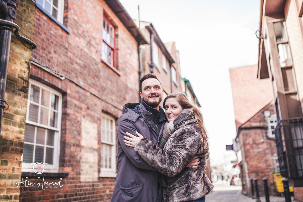 Couples engagement session in Berkhamsted Hertfordshire