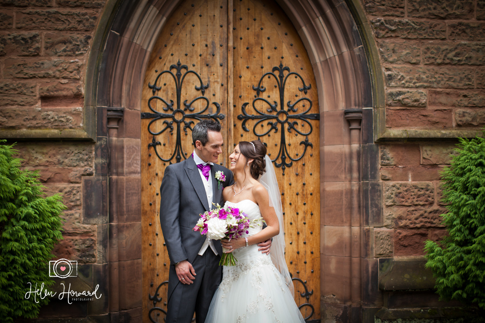 Wedding Photography in Lichfield at Christchurch