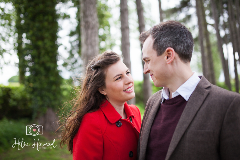 Pre wedding shoot at Packington Moor
