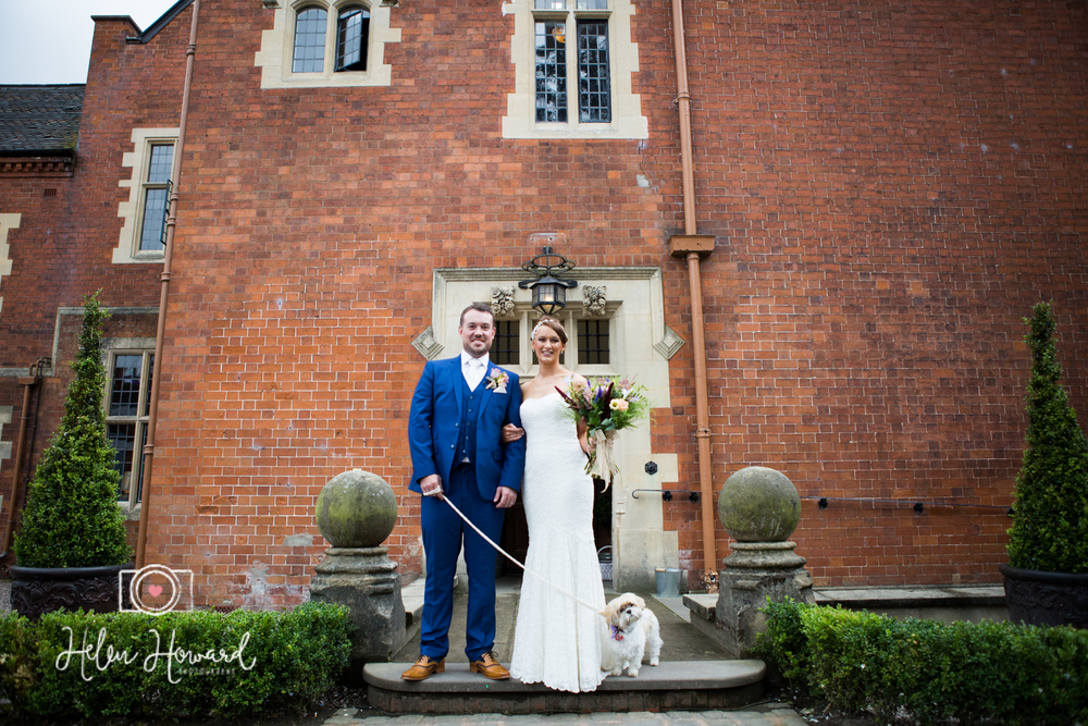Bride and Groom Wedding Photography at Pendrell Hall