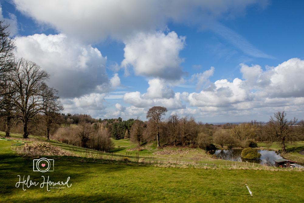 Views from Shrigley Hall Wedding Photographer