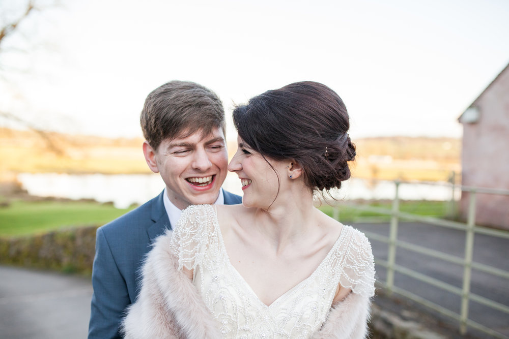 HANNAH & HARRY  A Weekday Wedding at The Ashes Barns -